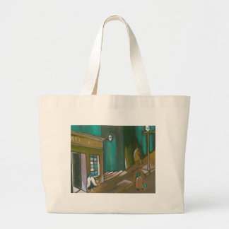 WAITING FOR FATHER LARGE TOTE BAG