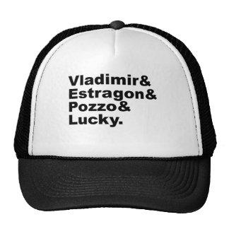 Waiting for Godot - Vladimir Estragon Pozzo Lucky Trucker Hat