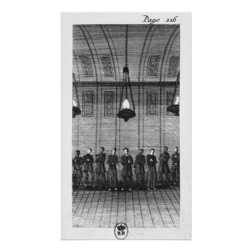 Waiting for Interrogation by the Inquisition Print