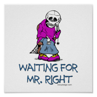 Waiting For Mr.Right Poster