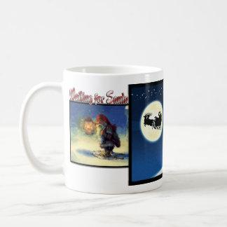 """""""Waiting for Santa"""" Christmas Mug"""