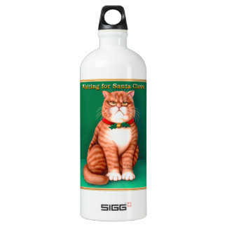 Waiting for Santa Claws SIGG Traveler 1.0L Water Bottle