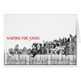 Waiting For Santa I Card