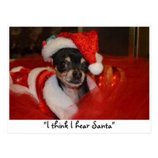 Waiting for Santa Postcard