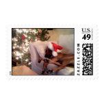Waiting for Santa Stamp