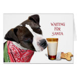 Waiting for Santa VI Greeting Cards