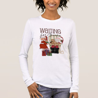 Waiting for Santa Women's Long Sleeve Long Sleeve T-Shirt
