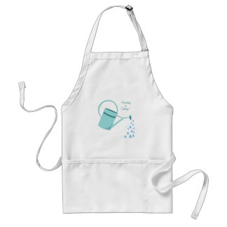 Waiting For Spring Adult Apron