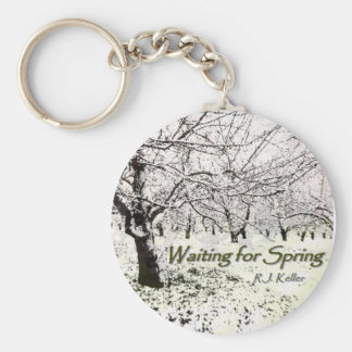 Waiting For Spring cover keychain