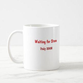Waiting for Steve, Italy 2008 Coffee Mug