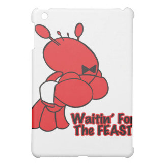 waiting for the feast funny lobster waiter iPad mini cover