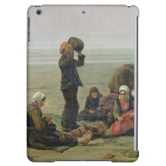Waiting for the Fish, Berck-sur-Mer Cover For iPad Air