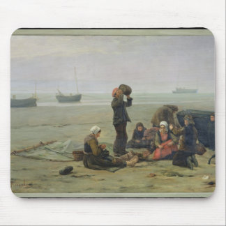 Waiting for the Fish, Berck-sur-Mer Mouse Pad