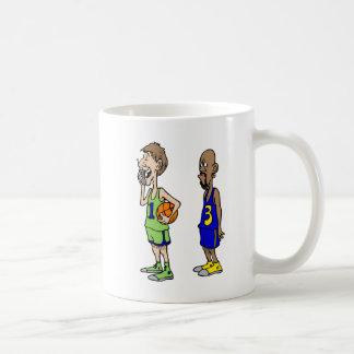 Waiting for the game coffee mug