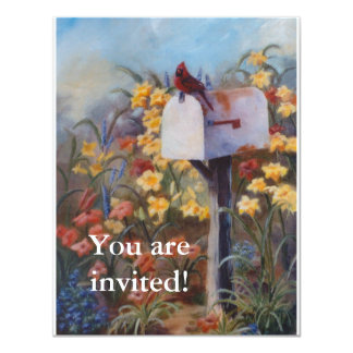 Waiting For the Mail 4.25x5.5 Paper Invitation Card