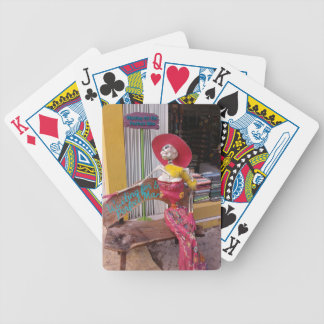 Waiting for the Perfect Man Bicycle Playing Cards