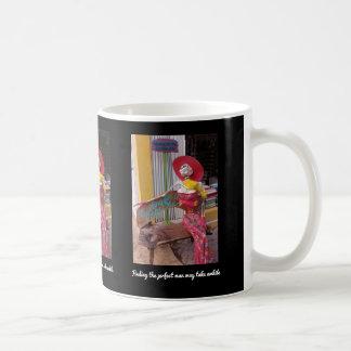 Waiting for the Perfect Man Coffee Mug