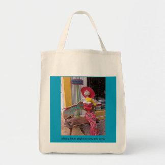 Waiting for the Perfect Man Tote Bag