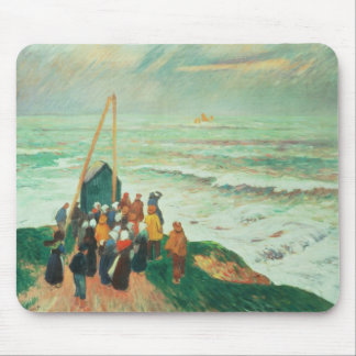 Waiting for the Return of the Fishermen Mouse Pad