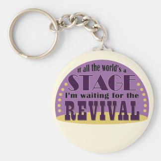 Waiting For The Revival Keychain