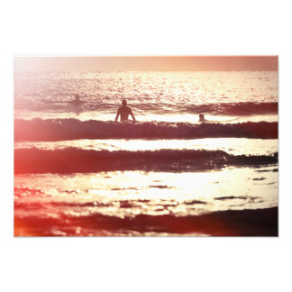 Waiting for the Surf Print Art Photo
