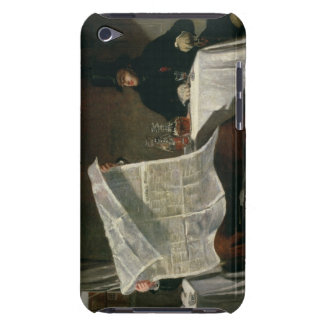 Waiting for the Times, 1831 (oil on canvas) Barely There iPod Case