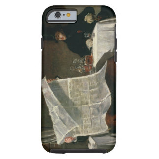 Waiting for the Times, 1831 (oil on canvas) Tough iPhone 6 Case