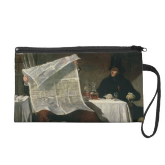 Waiting for the Times, 1831 (oil on canvas) Wristlet