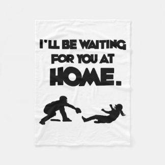 Waiting For You Fleece Blanket