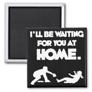 Waiting For You 2 Inch Square Magnet