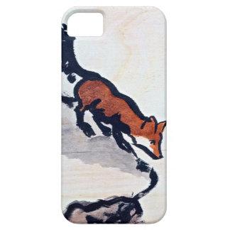 Waiting Fox iPhone Case