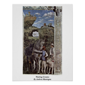 Waiting Grooms By Andrea Mantegna Posters