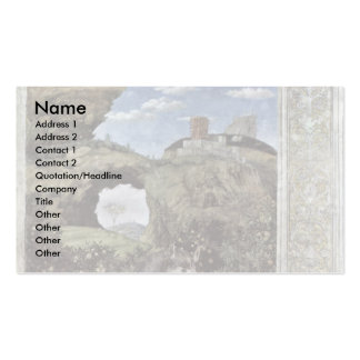 Waiting Grooms By Mantegna Andrea Double-Sided Standard Business Cards (Pack Of 100)