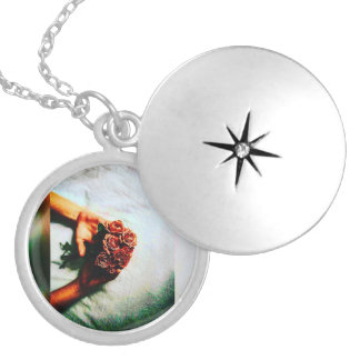 Waiting In Pain Silver Plated Locket