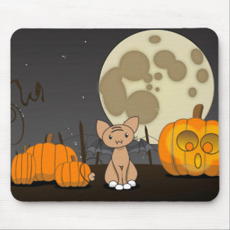 Waiting in the Pumpkin Patch Mouse Pad