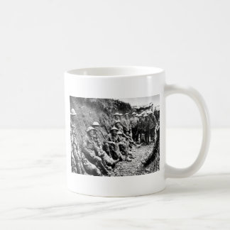 Waiting in the Trenches WWI Coffee Mug