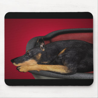 Waiting Mouse Pad