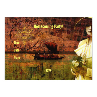 Waiting on Dry Land 5x7 Paper Invitation Card