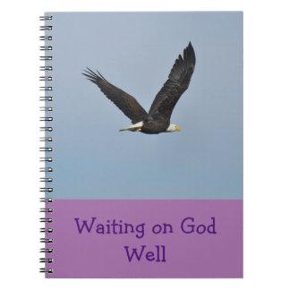 Waiting on God Well Eagle Journal
