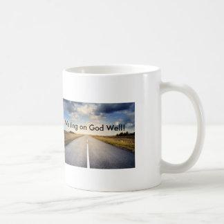 Waiting on God Well Open Road Coffee Mug