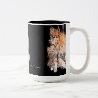 Waiting On Santa #2 Two-Tone Coffee Mug