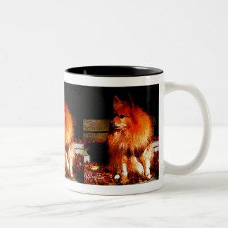 Waiting On Santa Two-Tone Coffee Mug