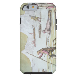Waiting on the Ice, detail from Seal Hunting (colo Tough iPhone 6 Case