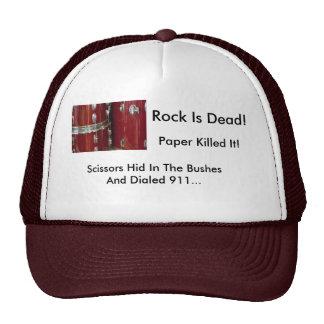 Waiting On The Sticks, Rock Is Dead!, Paper Kil... Trucker Hat