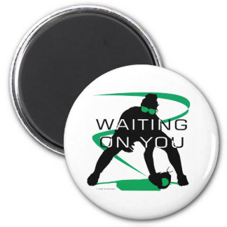 Waiting on you 2 inch round magnet