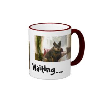 Waiting... Ringer Mug