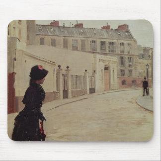 Waiting, Rue de Chateaubriand, Paris Mouse Pad