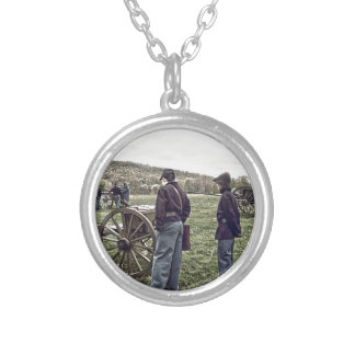 Waiting Silver Plated Necklace