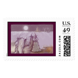 ***waiting the boatman*** postage