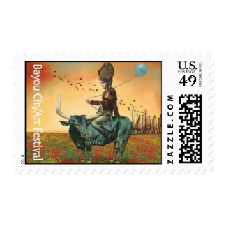 """""""Waiting to Fly"""" Postage Stamp"""